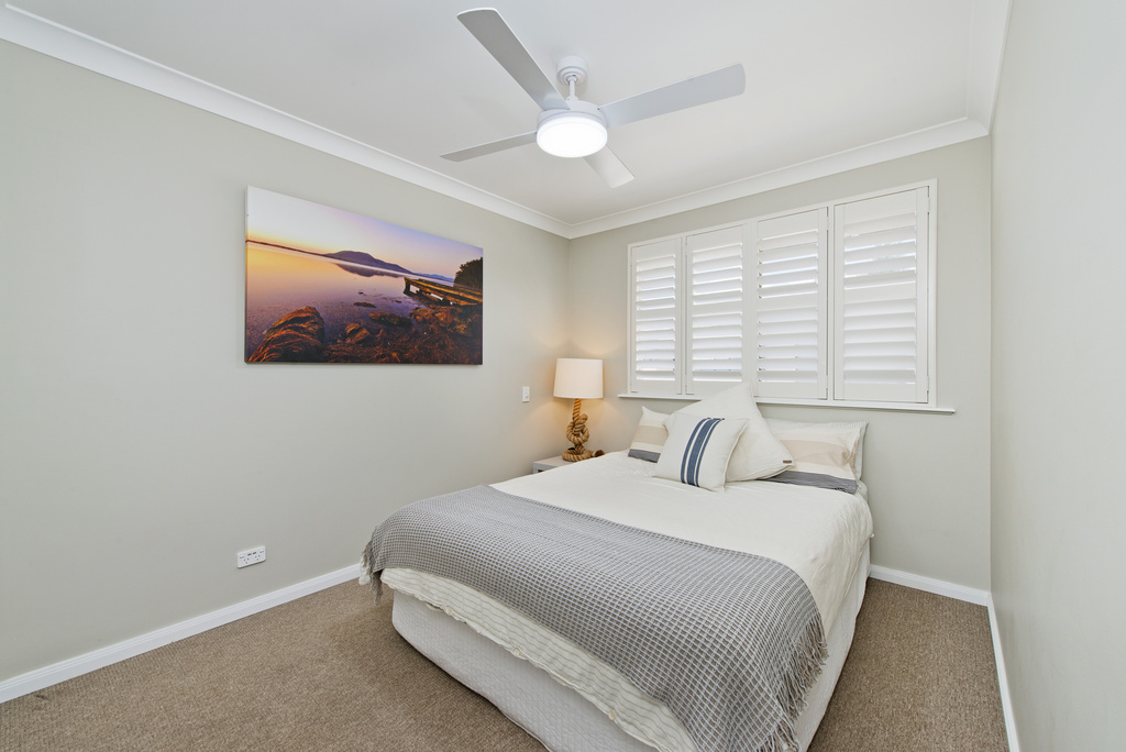 Second bedroom upstairs Apricari oasis by the sea Bonny Hills