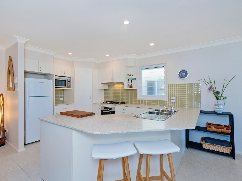 Open plan living/dining/kitchen Allure by the Sea