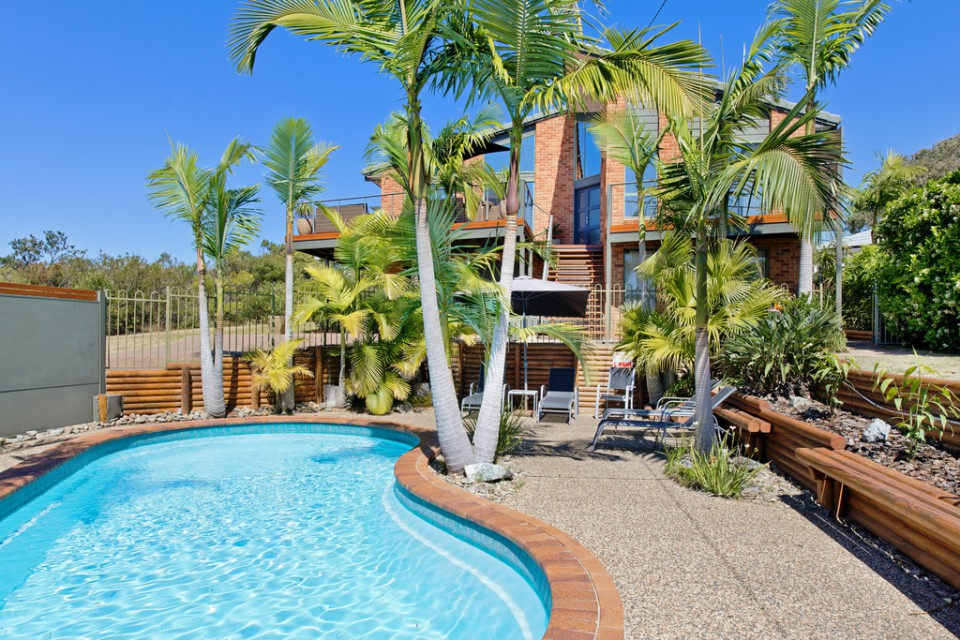 Panorama Beach House with pool Bonny Hills