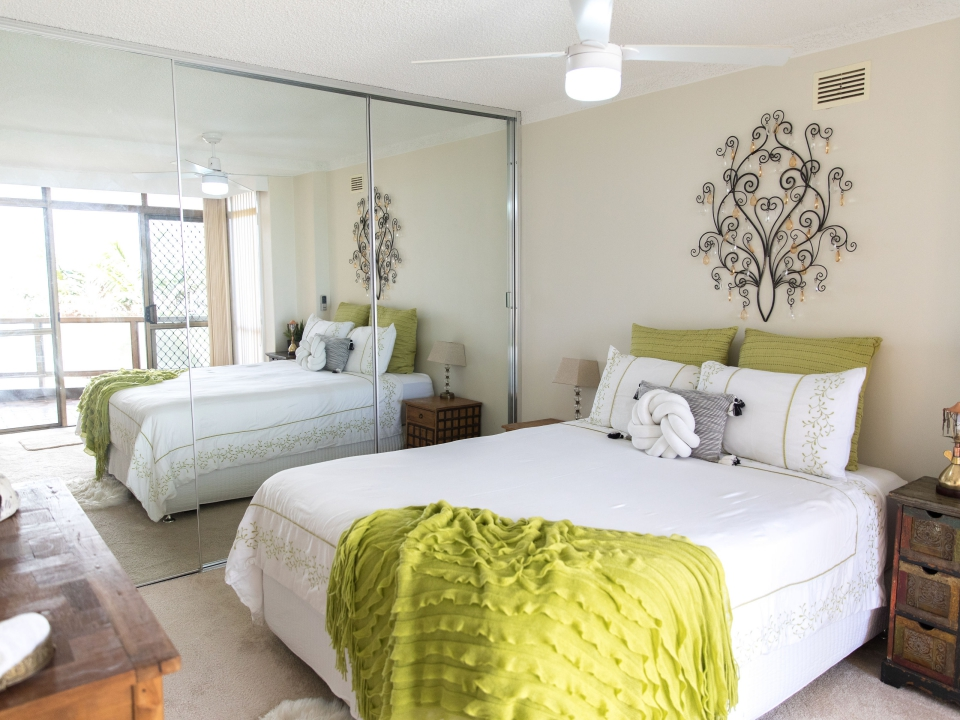 Master bedroom Beauty at the Beach Port Macquarie