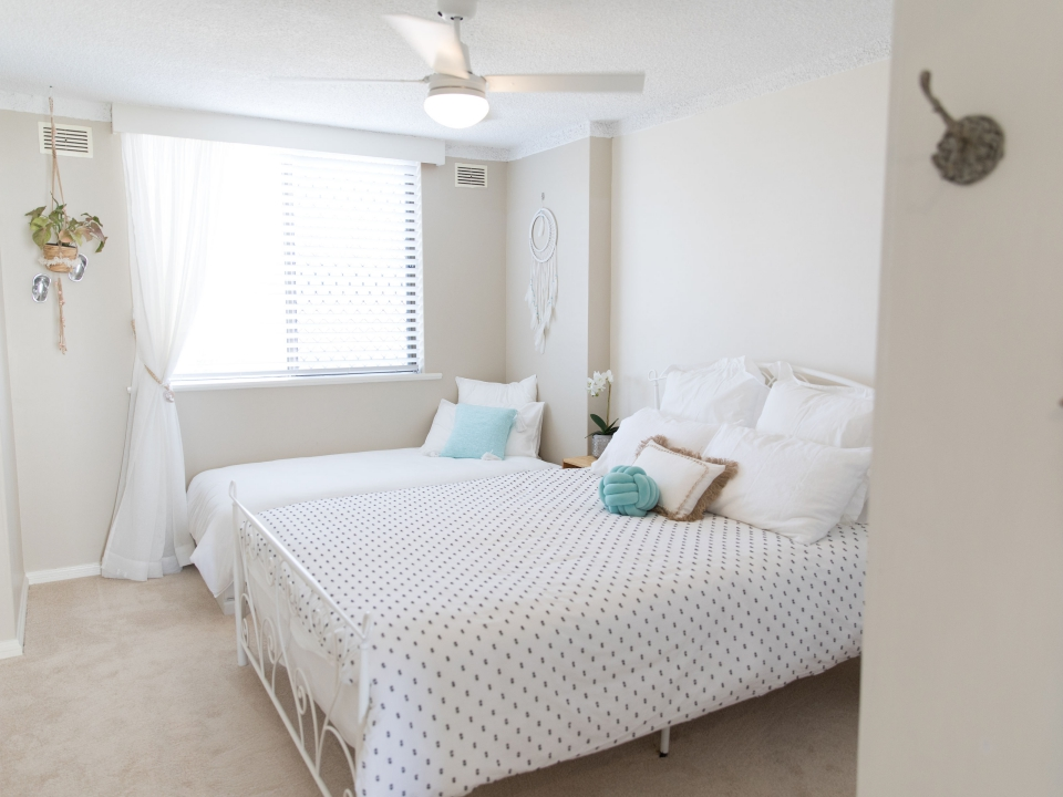 Third bedroom Beauty at the Beach Port Macquarie